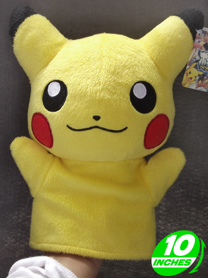 pokemon pikachu hand puppet glove pnhp9001 anime products