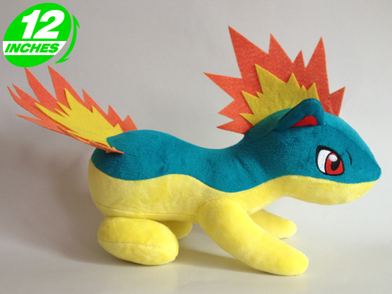 Pokemon Quilava Plush Doll - PNPL9126 - Anime Products Wholesale ...