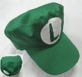 Super Mario Bros Luigi Baseball Cap Hat - MLHT7445
