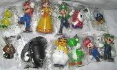 Super Mario Bros Keychains - MLKY9393