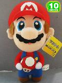 Super Mario Bros Mario Red Mushroom Plush Doll - MLPL7001