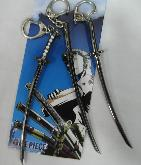 One Piece Keychain Set