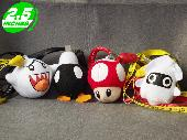 Super Mario Bob-Omb Blooper Big Boo Phone Straps - MLPS1000