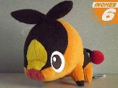 Pokemon BW Pokabu Tepig Plush Doll - PNPL8533