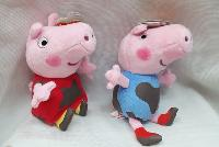 Peppa Pig Plush Dolls