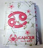 Twelve Constellations Cancer Wallet - TCWL3644