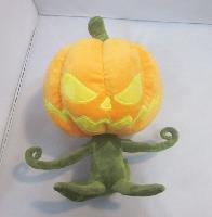 Halloween Pumpkin Plush Doll - HWPL6171