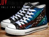 Galaxy Shoes Cosplay - ANSH1234