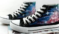 Galaxy Shoes Cosplay - ANSH9865